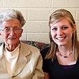 2008 MAY  karen with great grandma  1644