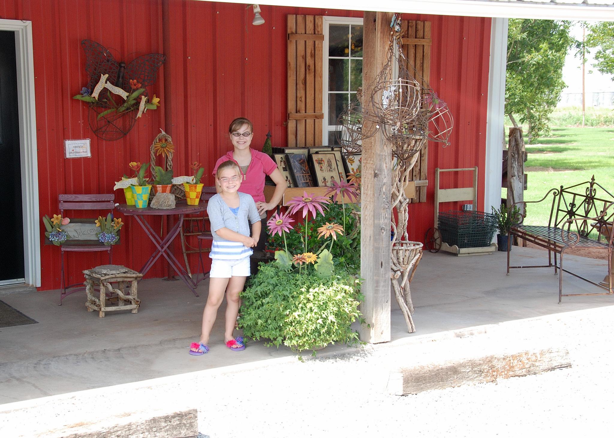 2008 JUNE JULY trip to AK TX pecans 2059
