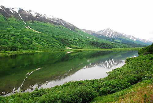 2008 JULY trip to AK road to seward 1978