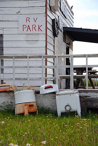2008 June trip to AK RV park 1886
