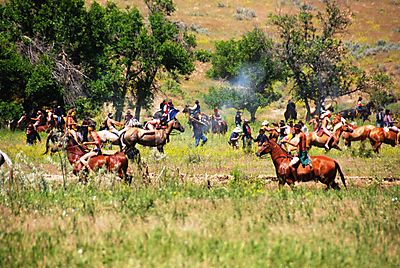 2008 June trip to AK battle at little big horn MT 1864