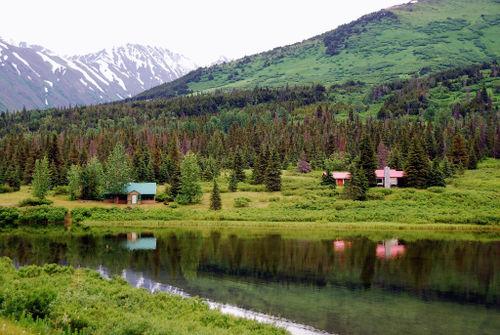 2008 JULY trip to AK road to seward 1979