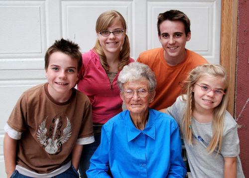 2008 JULY grandma with kids 2067