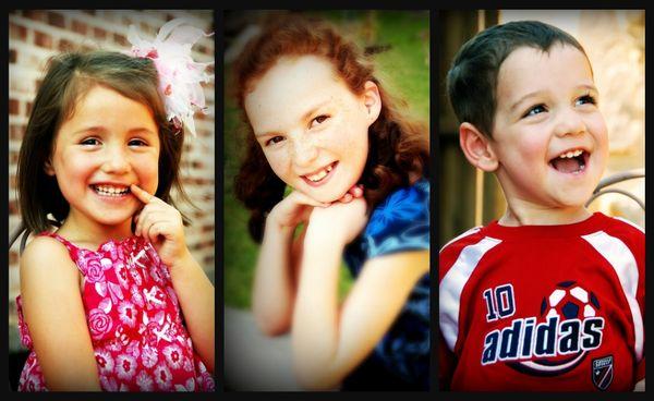 Frisbie kid collage