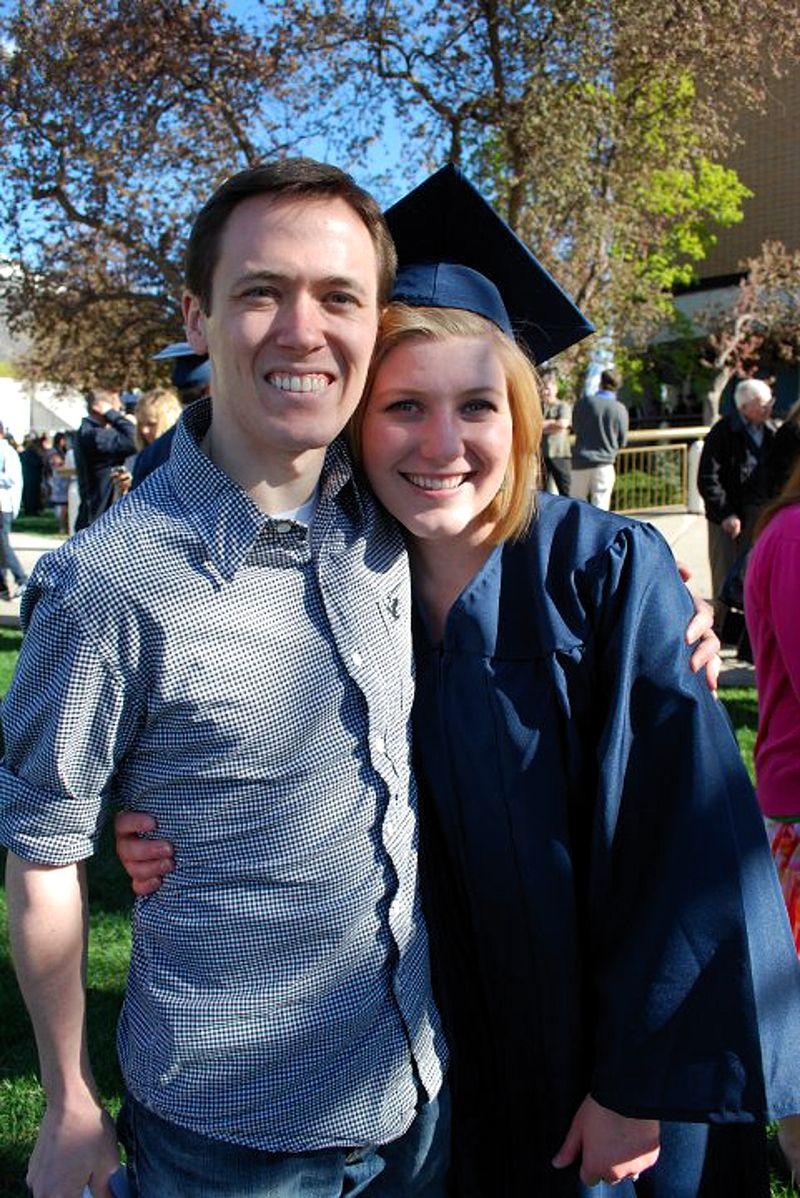 Tyler and karen graduation