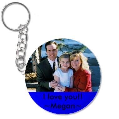 Key chain for christmas megan