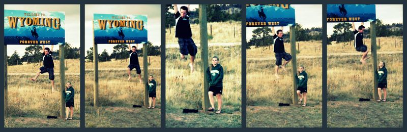 Wy border collage