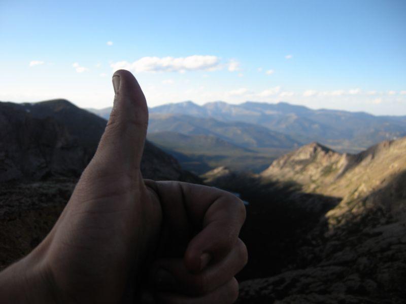 Thumbs up smash co climb