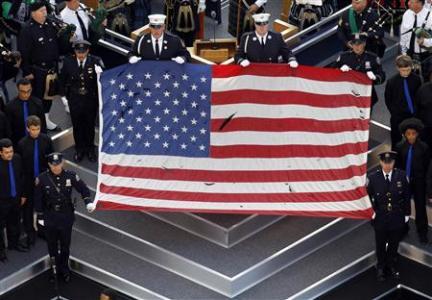 9 11 2011 wtc flag