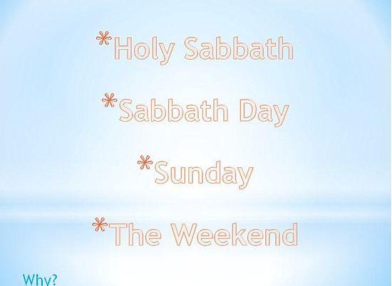 Slide sabbath