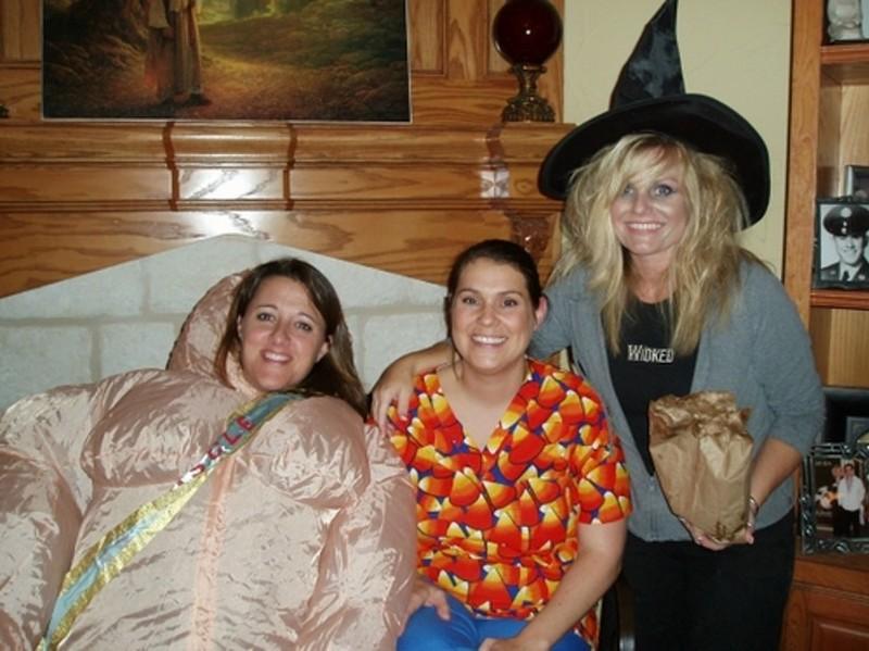 Gayla, stacy and mar halloween
