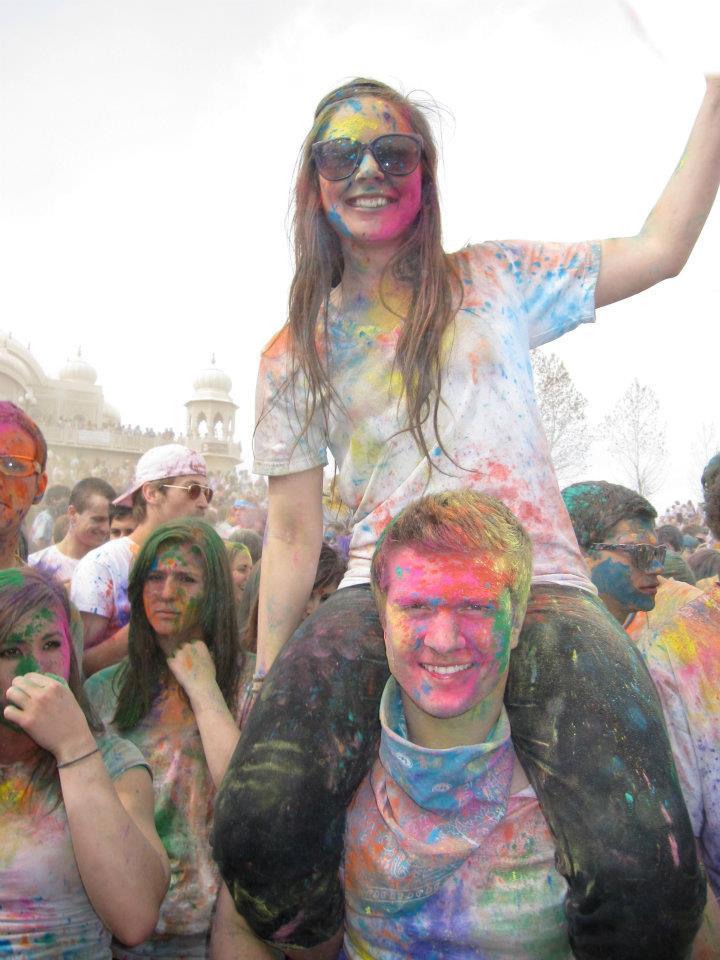 Fest of color krystin and derick