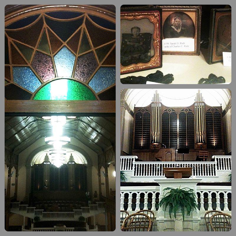 Inside Paris Tabernacle