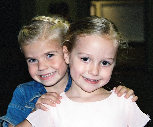 Meg and alyssa posers