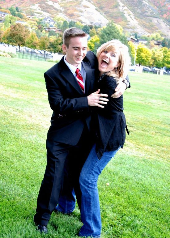 Nathan and mom