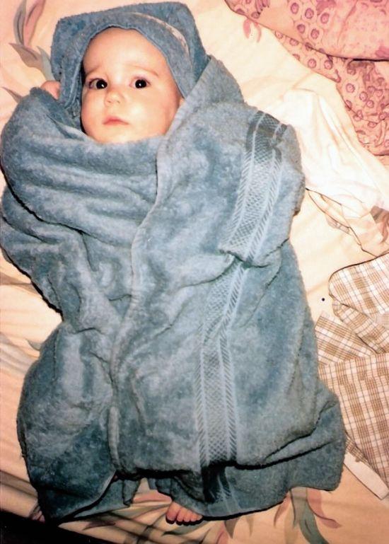 Nathan after bath