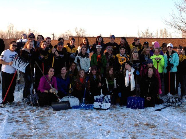 Meg lacrosse tryout
