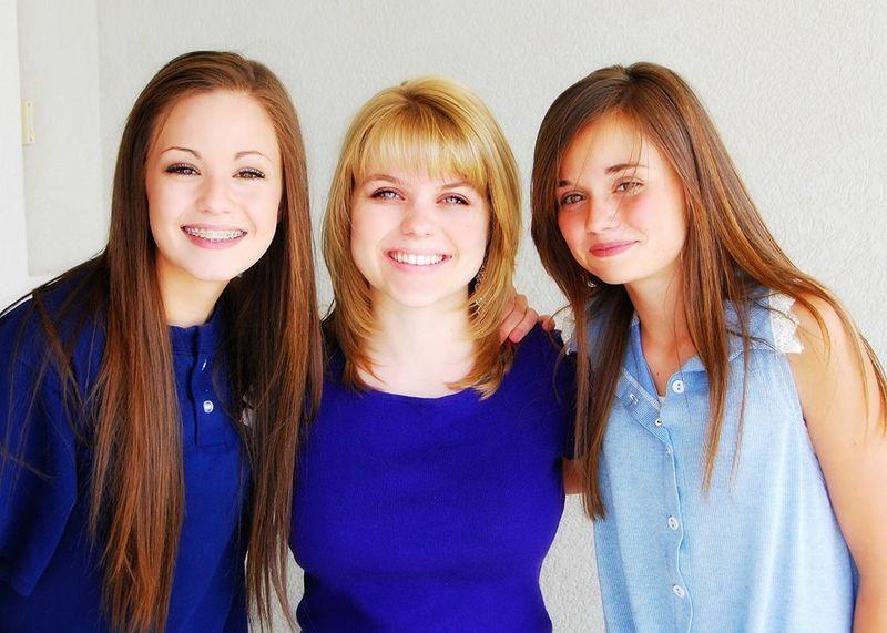 Em with aliya and breanna