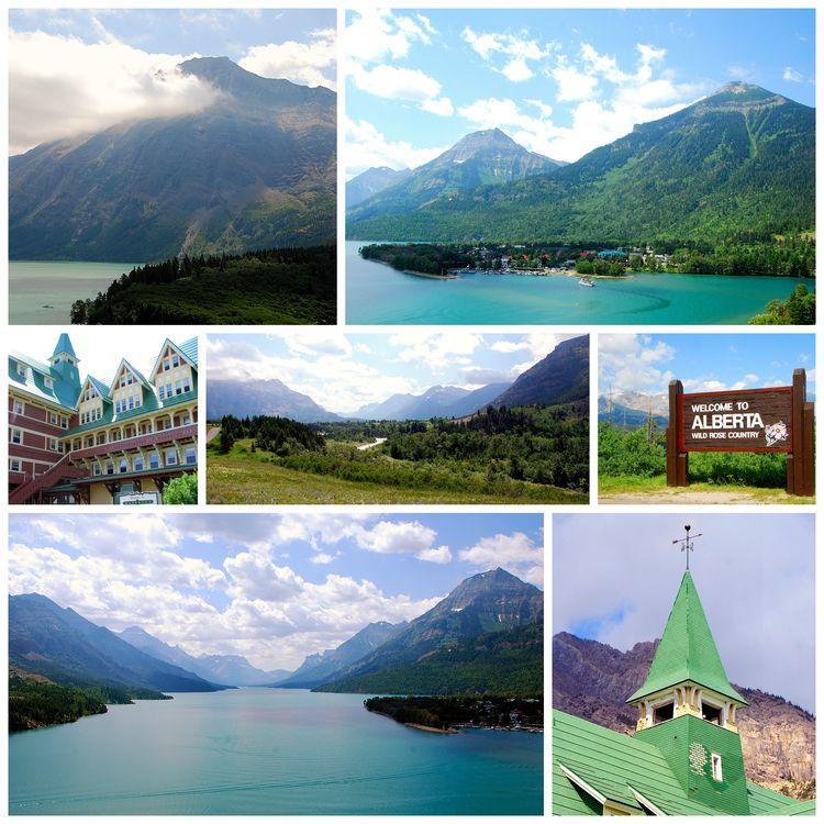 2013 Glacier -waterton collage 3