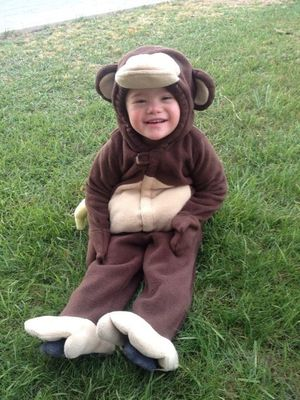 Eli in halloween costume