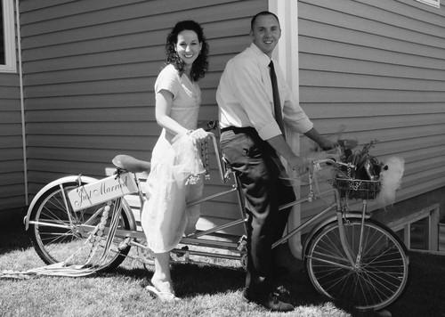 Mark_and_elizabeth_bike_for_2_bw